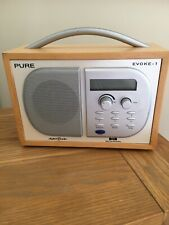 Pure Evoke-1 DAB, AM/FM Radio NO RESERVE