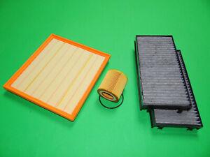 Ölfilter Luftfilter Aktivkohle Pollenfilter BMW X6 E71 E72, 35iX (225kW/306PS)