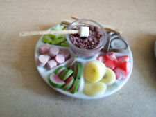 DOLLSHOUSE/SHOP FOOD,PICNIC,PARTY - CHOCOLATE DIP