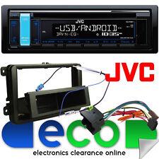 VW Caddy 03-15 JVC CD MP3 USB AUX Voiture Ipod Radio Stéréo Kit écran bleu