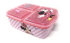 Disney Minnie Mouse Premium Brotdose Lunchbox Frühstücksbox Sandwichbox Vesper