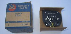 1951-1952 Pontiac Temperature Gauge NOS. OEM # 1512287. New in Box