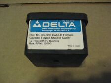 DELTA 43-910 C.T. CAB LH FEMALE SHAPER CUTTER(AA8090-1)