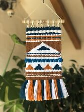 Hand Woven Tapestry Boho Hippie Wall Hanging Kilim Home Decor Autumn Weaving