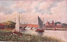 PARSONS NORMAN :The Thistle-Potter Heigham Bridge-JARROLDS 'Wild Flower'