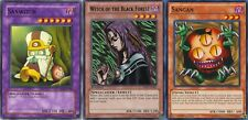 Sanwitch Sod Fusion: Set of 3 with Witch of The Black Forest Bp01+ Sangan Yugioh