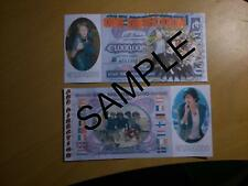 ONE DIRECTION 1 MILLION EURO BANKNOTE NOVELTY BANK NOTE XMAS