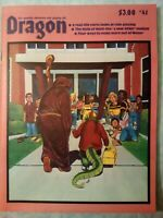 Vintage Dragon Magazine #41 September 1989 Dungeons and Dragons  level 8 module