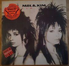 Mel & Kim - F.L.M. (White Vinyl, LP, Supreme Records, 1987)