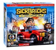 Sick Bricks Jack Justice Team Car & 3 Figurines 49 Piece Kit Cool Games For Kids