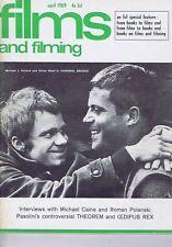 OLIVER REED / MICHAEL CAINE / ROMAN POLANSKIFilms & FilmingApr1969