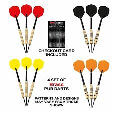Red Dragon Brass Darts Value Pack