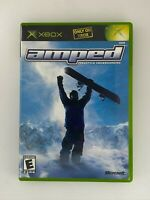 Amped: Freestyle Snowboarding - Original Xbox Game - Complete & Tested
