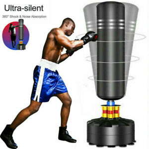 5.5ft Free Standing Boxing Punch Bag Stand MMA Kick Martial Art Training