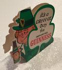 VINTAGE GUINNESS  STOUT BEER DUBLIN IRELAND ST. PATRICK DAY LEPRECHAUN IRISH NES
