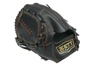 ZETT Pro Model 11.5 inch Black LHT Left Hand Throw Baseball Pitcher Glove