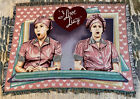 I Love Lucy Job Switching Chocolates Candy Factory Ethel Throw Blanket Tapestry