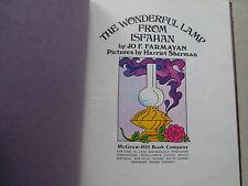 1974 The Wonderful Lamp from Isfahan by Jo F. Farmayan & Harriet Sherman