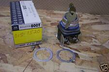 ALLEN BRADLEY 800T-E27B CYLINDER LOCK PUSHBUTTON ASSEMBLY NEW IN BOX