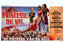 Peplum : P Brice : La Princesse Du Nil : Poster Repro