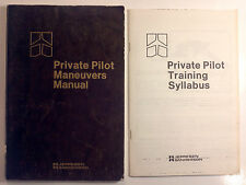 Private Pilot Maneuvers Manual and Training Syllabus - Lot - 1985 - Softcover