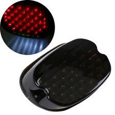 Tail Light Brake LED Smoke Rear for Harley Dyna Sportster Softail Custom Ultra