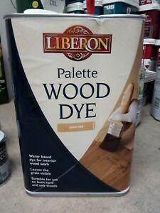 Liberon Palette Wood Dye Light Oak 5 Litre LIBWDPLO5L