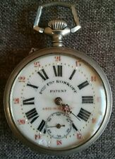 Petit Fils Roskopf Patent Anti Magnetic Pocket Watch Remontoir Garanti Swiss