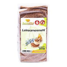 LoveDiet Leinsamenmehl 2erPack(2x500g) Glutenfrei Paleo-Vegan Produkte