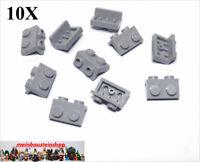 10X Lego® 99781 Konverterplatten Winkelplatten Halter 1X2-1X2 neues Hellgrau NEU