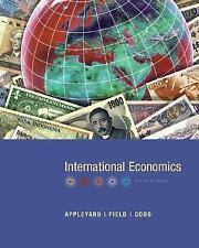 International Economics Appleyard,Dennis, Field,Alfred, Cobb,Steven Hardcover