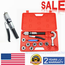 New Hydraulic Tube Expander 7 Lever Tubing Expander Tool Swaging HVAC Tools Kit