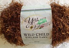 Yarn Bee Wild Child Eyelash Yarn - Pwcan - 1.8 Oz, 75 yds