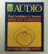 VTG Audio and Music Magazine August 1970 - Electronics For Public Address