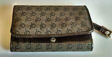 Roccobarocco portafoglio borsa borsetta tessuto pelle vintage