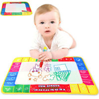 Child Kids Water Drawing Painting Writing Mat Board Magic Pen Doodle Toy