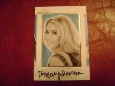 2014 Benchwarmer Hot For Teacher Brittany Herrera YEARBOOK AUTO GOLD PLAYMATE