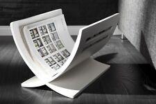 Zeitungsständer Magazinständer weiss MAGAZINE  zerlegbar stylisches Design NEU