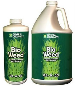 General Organics BioWeed 32 oz / 1 Gallon - Seaweed 0.2-0-0.3 GH Natural SALE