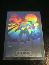 DC Cosmic Cards Hologram Hall of Fame #DCH  8 Superman - Skybox 1991 Impel    ZN