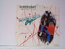 "GLENN FREY ""THE HEAT IS ON / SHOOT OUT"" 45w/PS  MINT"