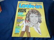 #52 DEC 20 1975 LOOK IN tv movie magazine DAVID ESSEX - SPACE 1999