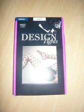 M&S - DESIGN TIGHTS - MEDIUM - BLACK - BNIB