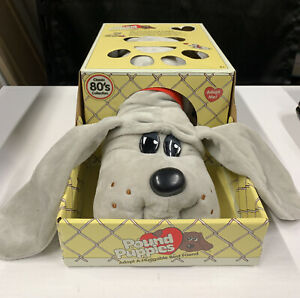 """Brand New! Vintage 80's Collection Pound Puppies.  14.5"""" Plush.  Free  Shipping."""