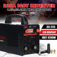 225A 220V  2-IN-1 MMA/ARC Welding Inverter Machine Stick Welder IGBT
