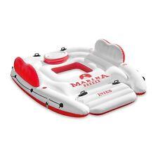 Intex Inflatable Marina Breeze Island Lake Raft with Built-In Cooler   56296CA