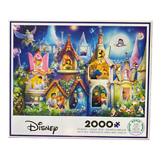 CEACO Disney PRINCESS CASTLE Jigsaw Puzzle 2000 Piec