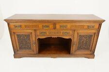 Antique Carved Oak Sideboard, Buffet, Scotland 1900, B2204