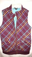 volcom womens vest size small ,super cool vest.