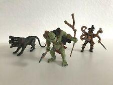 👿 Trois Figurines Papo Cerbère Chien 3 Tête, Pirate Mutant Pieuvre, Troll Ogre